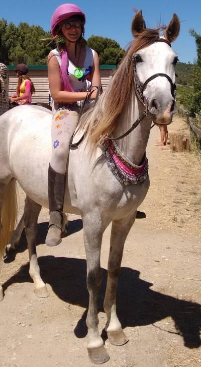 Tchispa et moi - Pure race espagnole (PRE) (3 ans)